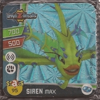 IMAN, Magnet, INVIZIMALS The Resistance, De PANINI, 95 Siren Max - Magnetos