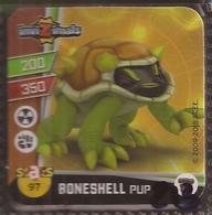 IMAN, Magnet, INVIZIMALS The Resistance, De PANINI, 97 Boneshell Pup (tercero) - Magnetos
