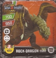 IMAN, Magnet, INVIZIMALS The Resistance, De PANINI, 100 Rock Dragon Max - Magnets