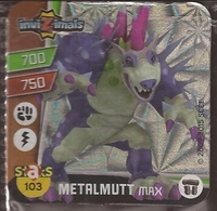 IMAN, Magnet, INVIZIMALS The Resistance, De PANINI, 103 Metalmutt Max (segundo) - Magnetos