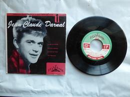 EP 45 T  JEAN CLAUDE DARNAL  LABEL FONTANA 576.015  LE TOUR DU MONDE - Disco, Pop