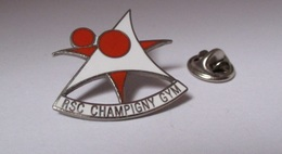 Pin's Gymnastique Sportive / RSC Red Star Club Champigny Gym (zamac Argenté) - Gymnastics