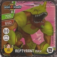 IMAN, Magnet, INVIZIMALS The Resistance, De PANINI, 111 Reptyrant Max - Magnets