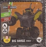IMAN, Magnet, INVIZIMALS The Resistance, De PANINI, 113 Big Sarge Max - Sin Clasificación