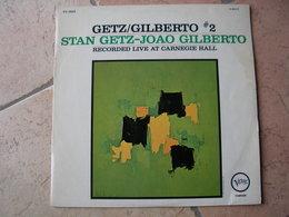 "33 Tours 30 Cm - STAN GETZ-JOAO GILBERTO  - VERVE 8623  "" RECORDED LIVE AT CARNEGIE HALL ""  10 TITRES ( 9 OCTOBRE 1964 ) - Vinyl Records"