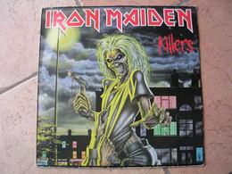 "33 Tours 30 Cm - IRON MAIDEN  - PATHE 07450  "" KILLERS ""  10 TITRES - Vinyl Records"