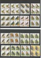 Buzin Préo's Complete Serie Postfris Zonder Scharnier In Blok Van 4 - België