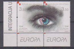 Europa Cept 2006 Croatia 2v (corner) ** Mnh (38296A) - 2006
