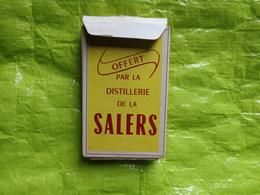 Jeu De Carte -distillerie SALERS - Publicité