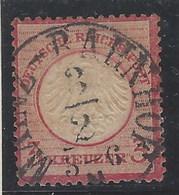 Alemania Imperio U 016 (o) Aguila. Escudo Grande. 1872 - Usados