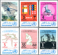 Ref. 318189 * NEW *  - QATAR . 1973. WORLD HEALTH ORGANIZATION. ORGANIZACION MUNDIAL DE LA SALUD - Qatar