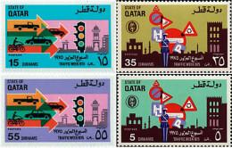 Ref. 42247 * NEW *  - QATAR . 1975. TRAFFIC WEEK. SEMANA DE LA CIRCULACION - Qatar