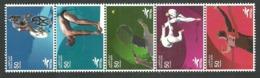 QATAR 2006 SPORT DOHA CYCLING DIVING TENNIS JUDO ATHLETICS SET MNH - Qatar