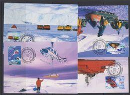 AAT 1998 Transport 4v 4 Maxicards ** Mnh (38298) - Maximumkaarten