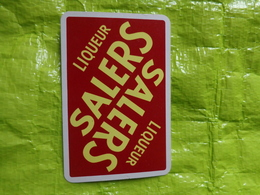 1 Carte -distillerie SALERS - Publicité