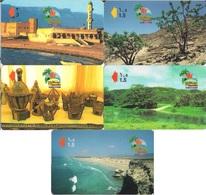 Oman, Khareef Salalah, 5 Phone Cards - Oman