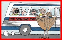 CPSM/gf HUMOUR.  New-York Scenic Tours. Artist: Mario Risso...F171 - Humor