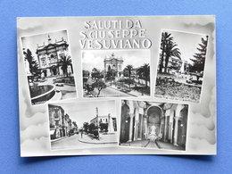 Cartolina S. Giuseppe Vesuviano - Varie Vedute - 1959 - Napoli (Naples)