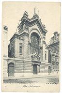 Cpa Lille - La Synagogue - Lille