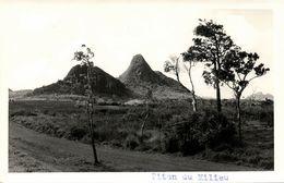Mauritius, MOKA, Piton Du Milieu Mountain (1950s) RPPC - Mauritius