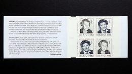 Schweden 1943/4 DD MH/booklet 215 **/mnh, EUROPA/CEPT 1996, Berühmte Frauen - 1981-..