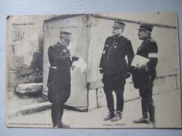 GENERAL DE CASTELNAU / GENERAL JOFFRE / JOLIE CARTE 1915 - Personajes