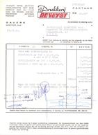 Factuur Facture  - Drukkerij De Vuyst - Gavere  1968 - Printing & Stationeries