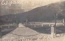 CRESPANO DEL GRAPPA-TREVISO-CIMITERO MILITARE-CARTOLINA VERA FOTOGRAFIA-ANNO 1920-30 - Treviso