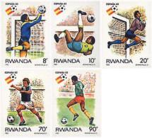 Ref. 339591 * NEW *  - RWANDA . 1982. FOOTBALL WORLD CUP. SPAIN-82. COPA DEL MUNDO DE FUTBOL. ESPAÑA-82 - Rwanda