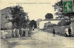 E5 17 MONTPELLIER DE MEDILLAN Entrée Du Bourg 1916 - France