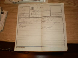 Telegrm Tavirat O Keresztur 1918 Srpski Krstur Banat - Télégraphes