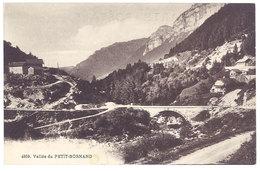 Cpa Vallée Du Petit-Bornand - Frankrijk
