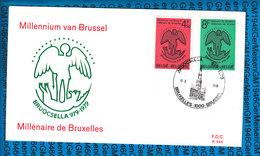 Belgie Cover - Millennium Van Brussel 1979 - FDC