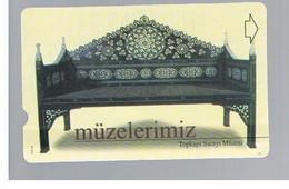 TURCHIA  (TURKEY)  -  2001  TOPKAPI MUSEUM     - USED - RIF. 10769 - Turquia