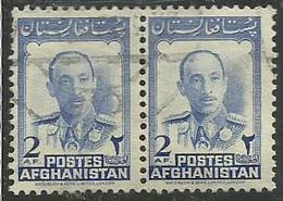 AFGHANISTAN AFGANISTAN AFGHAN POST 1951 P1ofifo Ol Zahir Shah In Uniform 2af USED USATO OBLITERE' - Afghanistan