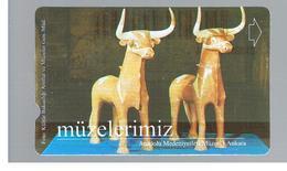 TURCHIA  (TURKEY)  -  2001  ANKARA MUSEUM  - USED - RIF. 10769 - Turquia
