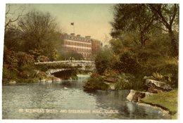 (324) Very Old Postcard - Ireland - Dublin Shelbourne Hotel - Dublin