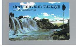TURCHIA  (TURKEY)  -  2001  VAN WATERFALL - USED - RIF. 10772 - Turquie