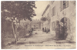 Cpa Séminaire De Fontlongue - Miramas - La Pergola - France