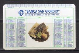 Banca San Giorgio - Credito Cooperativo Di Fara Vicentina - - Calendars