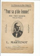 Partition  Pour Sa P'tite Femme MAX POULTY - Partitions Musicales Anciennes