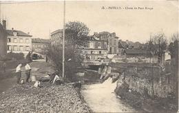 76 Pavilly  Chute Du Pont Rouge - Pavilly