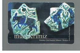 TURCHIA  (TURKEY)  -  2001  KONYA MUSEUM    - USED - RIF. 10775 - Turquia
