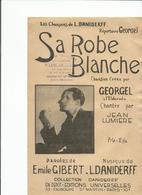Partition  SA ROBE BLANCHE -GEORGEL- - Noten & Partituren