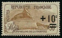 FRANCE - YT 167a ** - ORPHELINS - IMPRESSION FINE - TIMBRE NEUF ** - Frankreich