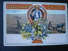 Publicité DEBEUKELAER'S CACAO : Provincie OOST FLANDEREN - Belgique