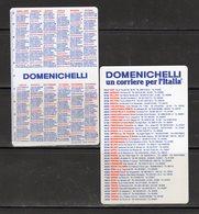 Domenichelli - Un Corriere Per L'Italia - - Calendriers