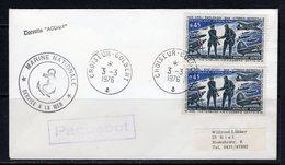 """FRANCE 1976 - Maritime Cover With Cancel CROISEUR COLBERT, Paquebot & Corvette """"ACONIT"""" - Poste Navale"""