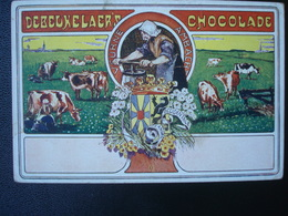 Publicité DEBEUKELAER'S CHOCOLADE :  FLANDRE OCCIDENTALE - Belgique