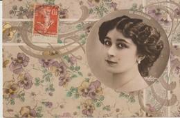 CPA - DE CASTILLOS - 1899 - S - FEMME - Frauen